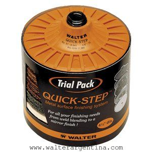 QUICK STEP TRIAL PACK M14 - ABRASIVOS - QUICK STEP